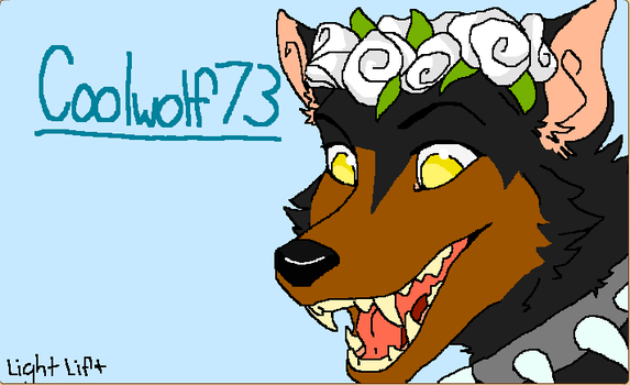 Coolwolf73 by elementkitty