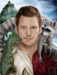Jurassic World vs Guardians of the Galaxy by Saxa-XCII