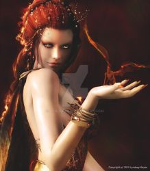Melisandre (The Red Woman) by Lyndseyh