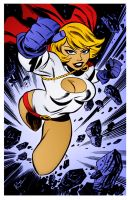 Power Girl 4 by Bruce Timm by DrDoom1081