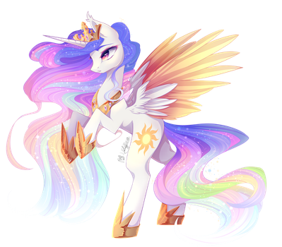 Celestia (open collab) by PrettyShineGP