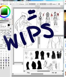 Comic WIPs by PersephonesDaughter