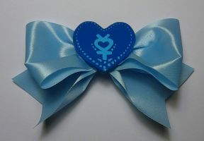 Sailor Mercury Special Hair Clip by SarahsPlushNStuff