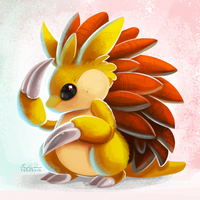 028 - Sandslash by TsaoShin