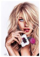 Candice Swanepoel by LauraCatrinella