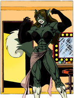 Megas Catgirl colored by Ritualist