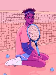 i only play wii tennis by ALIEENS