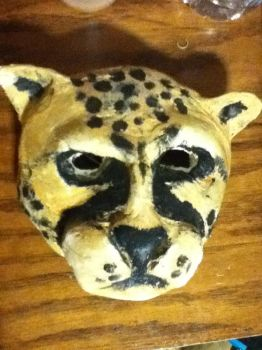 Cheetah Mask by ElricloverAlchemist