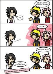 Naruto: Come Back Comic by OneWingedMuse