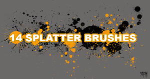 Ultimate splatter brushes two by Screamotizer
