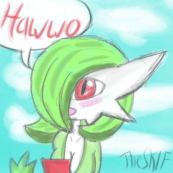 Hawwo, My Lil Gardevoir :3 by TheSKIF