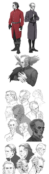 TW3: sketchdump by coupleofkooks