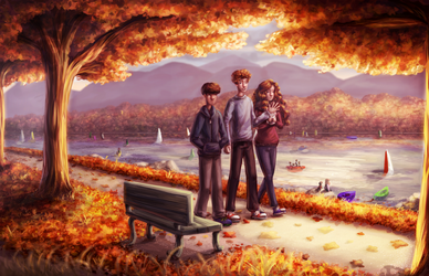 Autumn by ghostchiryou