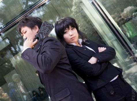 [PSYCHO-PASS] Enforcers {SCon 2013} by Atochan