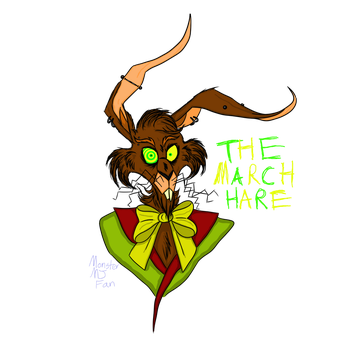 The March Hare by MonsterMJFan