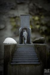 Old cementery Darmstadt // Gateway to heaven by stonecastillo
