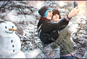 Chloe and Max | Priceless Cosplay FANART by Pashiino