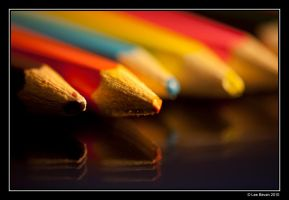 Crayons by Leeby