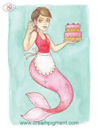 MerMay 2018: Day 22 - Sweet by DreamPigment