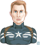 Captain America by pinstripe-pixels