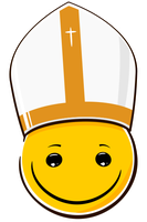 Little Pope Smiley by mondspeer