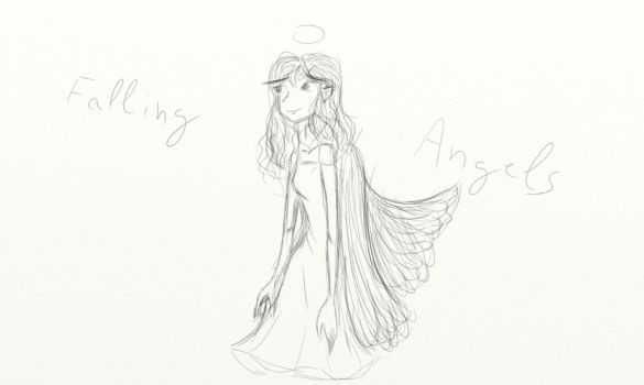 Falling Angels sketch by MariaTTT