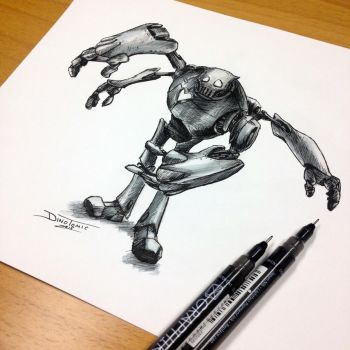 Quick Robot Sketch by AtomiccircuS