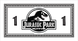 Jurassic Park Monopoly Money (Updated) by Eschenfelder
