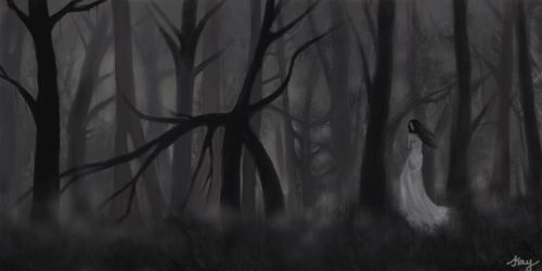The Silent forest by xiaomeimei