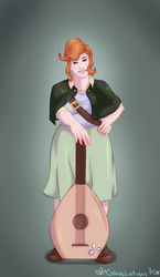 Connie the Halfling by GlassLotuses