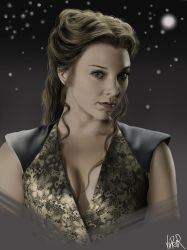 Margaery Tyrell - Game of Thrones digital Portrait by ViiPerArt