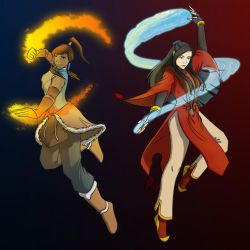 Avatars of Water and Fire by mizzizabellaSMS