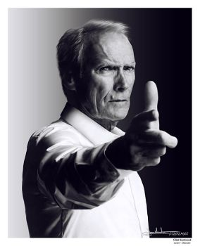 Clint Eastwood by MaxHitman