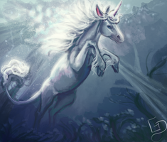 #Equinemarch 21: The Last Unicorn by Dalgeor