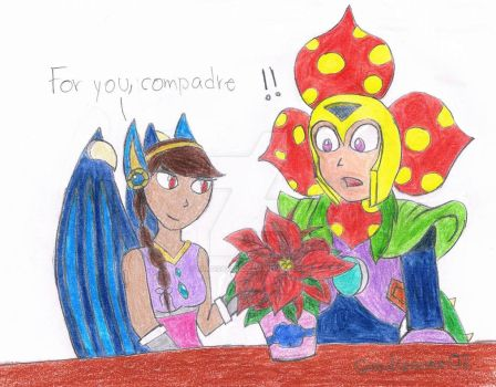 For Zavraan: Plantman's gift by Guadisaves02