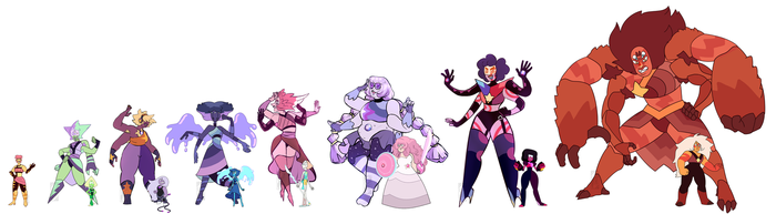 Fusions With Canon Gems by Deer-Head