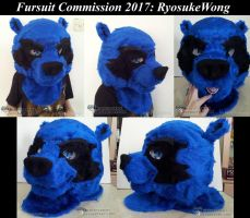 Fursuit Commission (RyosukeWong) 01 by krystlekmy