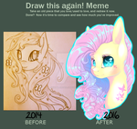 Draw this Again Meme by NebulaNovia