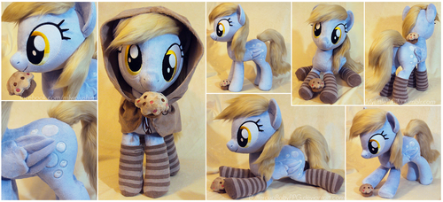 Derpy with Faux Fur Hair, Socks and Hood by ButtercupBabyPPG
