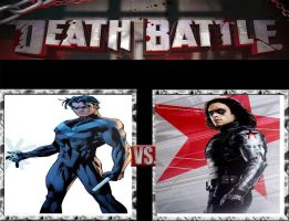 Request #20 Nightwing vs The Winter Soldier by LukeAlanBundesen