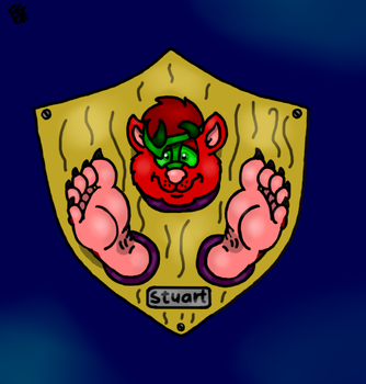 Stuart paw trophy by Coolfruits