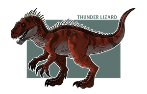 Thunder Lizard by McSlackerton