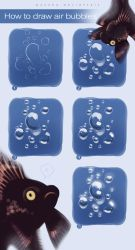 How To Draw Air Bubbles by wysoka