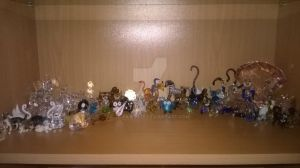 My Glas Figure Collection Thing by JB-Pawstep