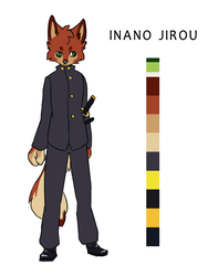 Irano Jiroou by WOLFWARRIOIS
