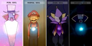 Types of Souls by mariogamesandenemies