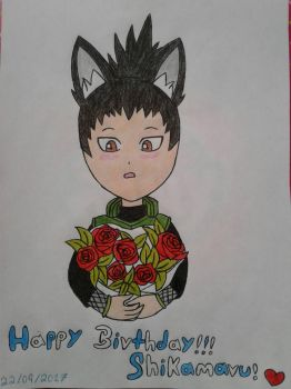 Happy birthday Shikamaru! by Lobita02