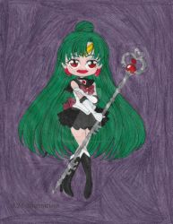 Sailor Pluto by ilovepinkhair