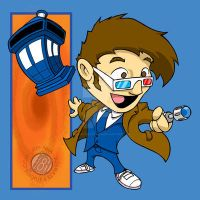 Doctor Who - 10th Doctor Chibi by Sideways8Studios