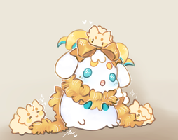 Golden Sheep by WiviAdopts